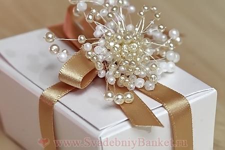Подарок жениха и невесты гостям