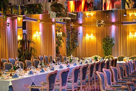 Идеи оформления зала для свадьбы