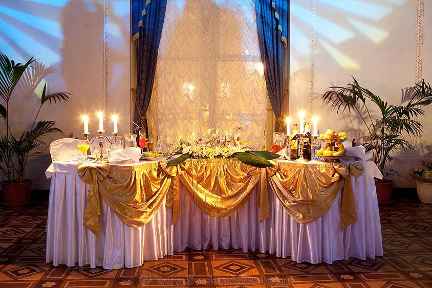 Оформление зала на свадьбу фото