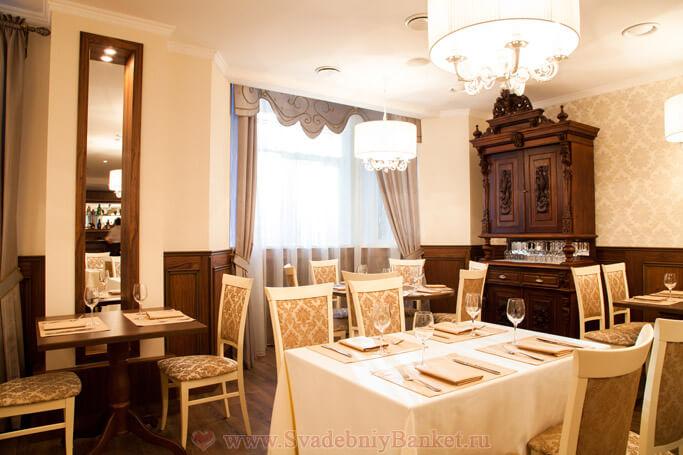 Торжественный зал ресторана Русское Подворье