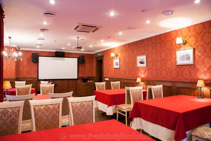 Особый зал ресторана Русское Подворье