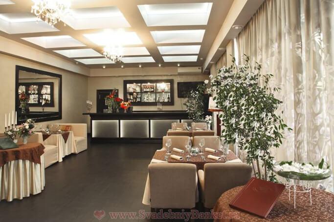 Малый зал ресторана Времена года