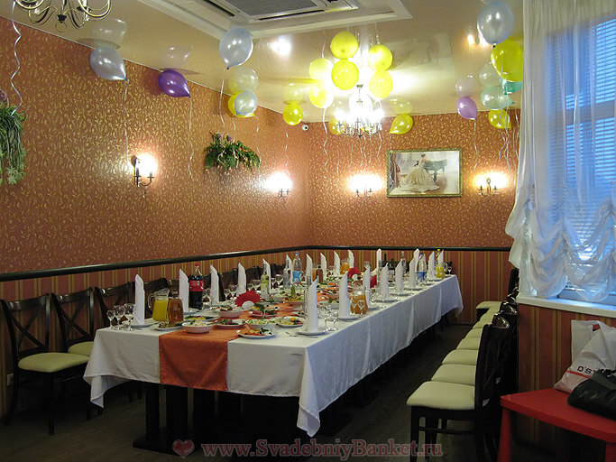 VIP зал ресторана Амстердам