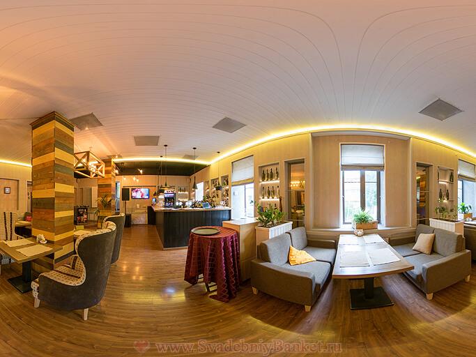 Основной зал ресторана Хороший год