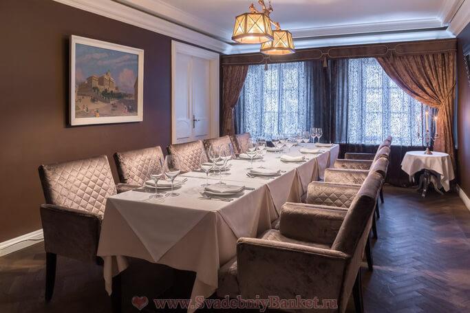 Второй обеденный зал ресторана Гусятникофф