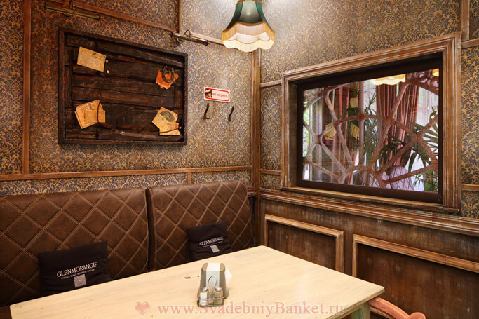 1 VIP зал ресторана Ипполит Матвеевич