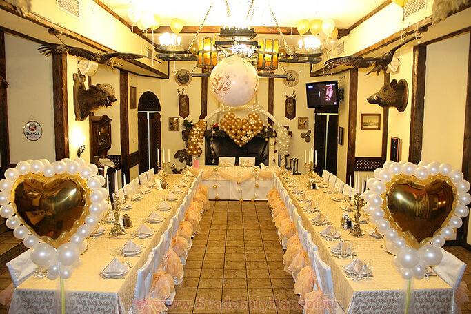 Охотничий зал ресторана Старина Мюллер на Шмитовском