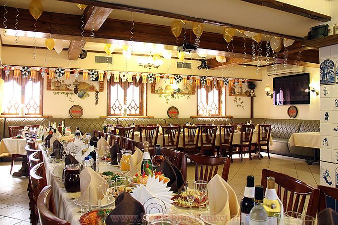 Шведский зал ресторана Старина Мюллер на Бакунинской