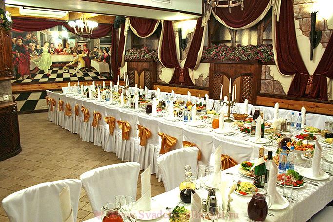 Банкетный зал ресторана Старина Мюллер на Бакунинской