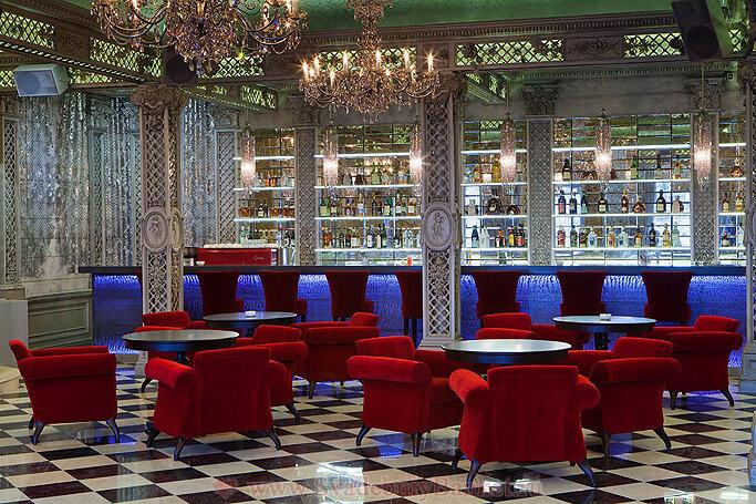 Серебряный зал 1-го этажа ресторана Турандот