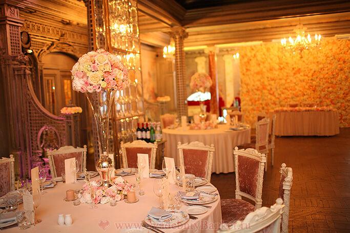 Серебряный зал 2-го этажа ресторана Турандот