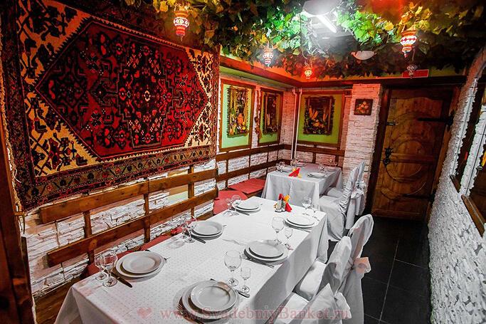 Зал VIP-2 ресторана Муган