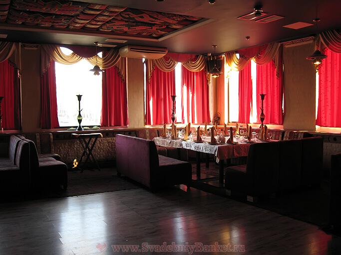 Банкетный зал кафе Бакинский очаг