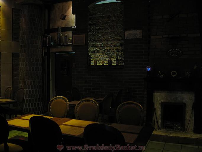 Каминный зал ресторана Твин Пигз