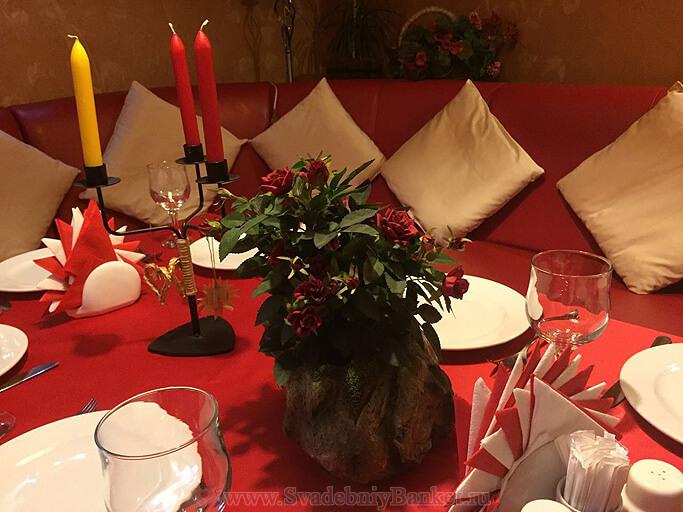Депозитный красный Вип зал ресторана БирШтрассе