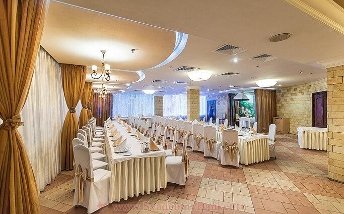 Основной зал ресторана Piccante (Пикканте) отеля Салют