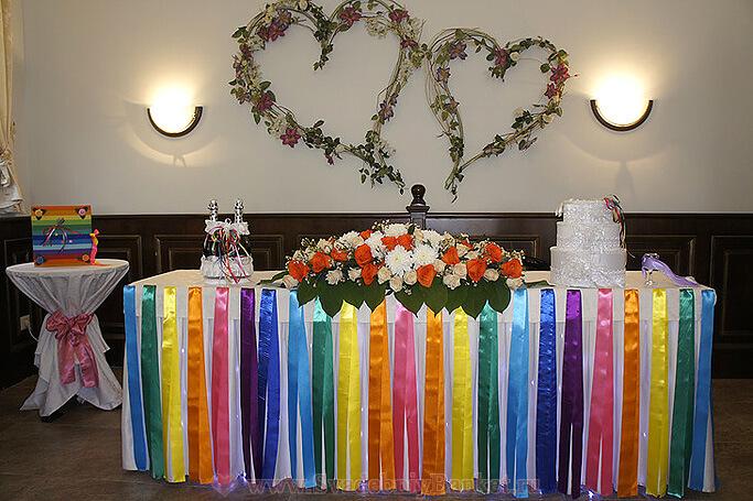 Свадебный зал + Каминный зал Крем-кафе