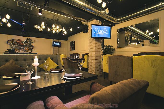 Зал Studio караоке-клуба Studio 46
