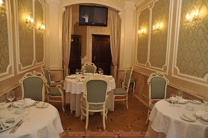 VIP зал ресторана Ривьера