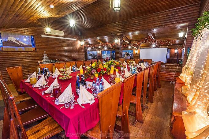 Банкетный зал ресторана Шале