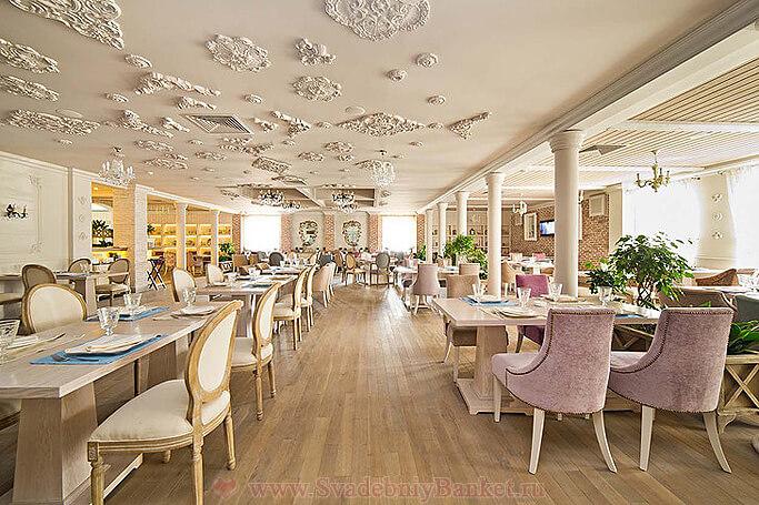 Основной зал ресторана Вилладжио
