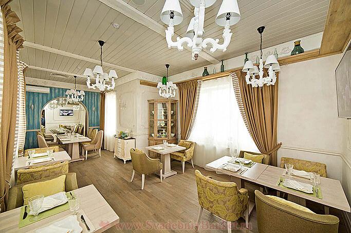 VIP зал ресторана Вилладжио
