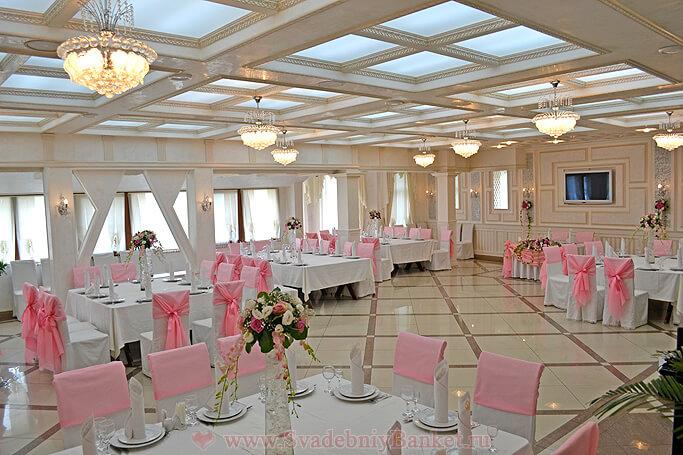 Белый зал ресторана Ереван