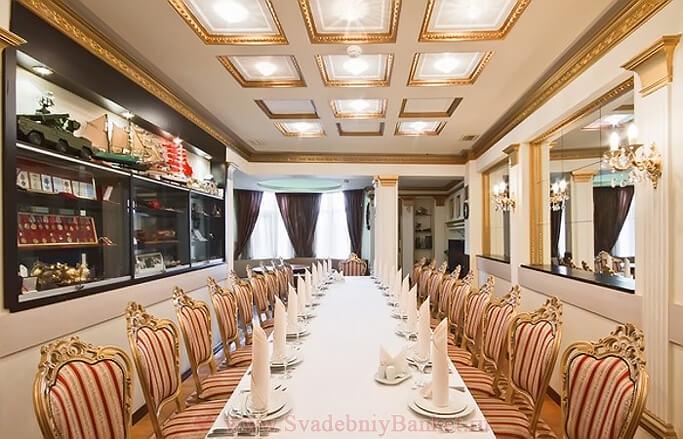Офицерский зал ресторана Ереван