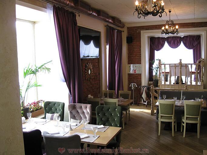 Второй зал ресторана Генацвале ВИП на Остоженке