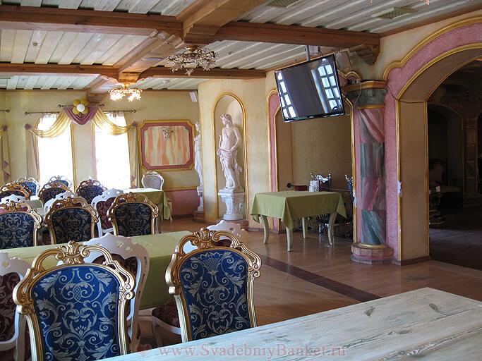 Зал Классический ресторана Генацвале на Арбате