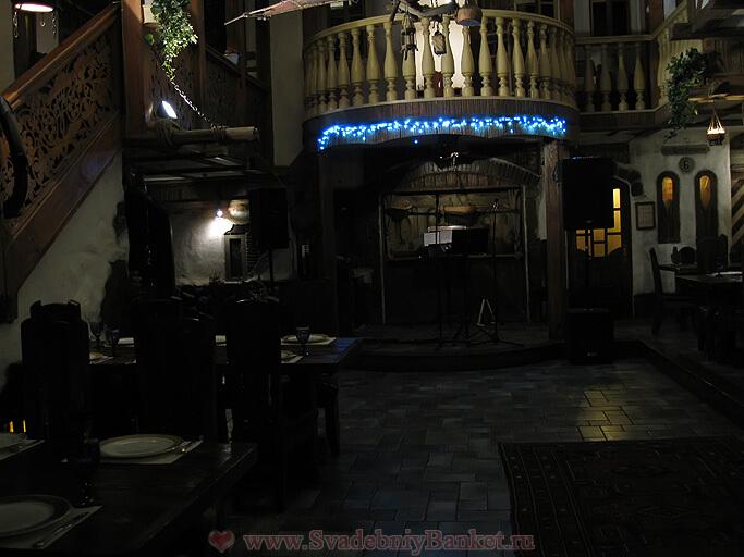 Зал Банкетный ресторана Генацвале на Арбате
