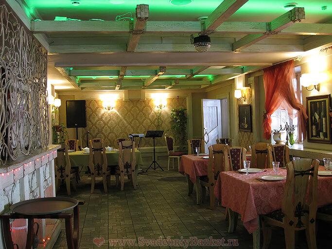 1-ый малый зал ресторана Генацвале на Арбате