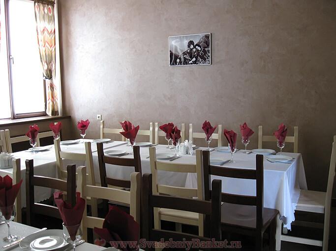 Зал Тбилиси ресторана Биджо