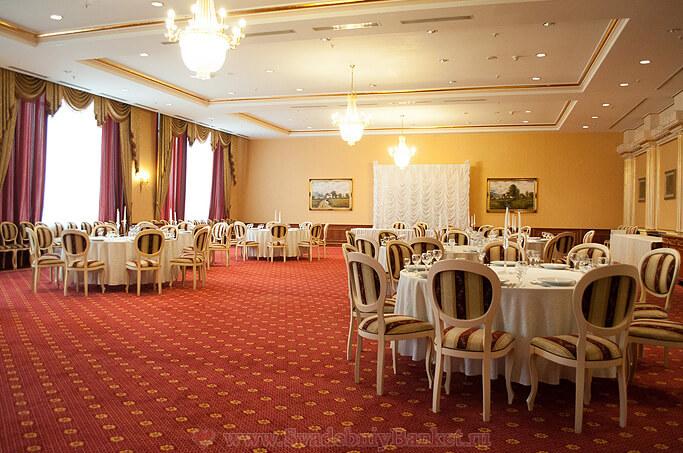 Золотой зал ресторана Ватутинки