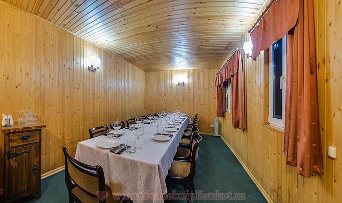 Домик ресторана Луснар