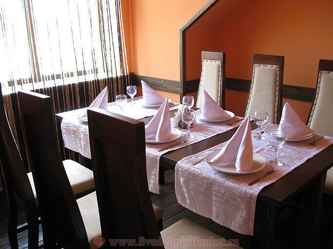 VIP-зал второго этажа кафе Янковский