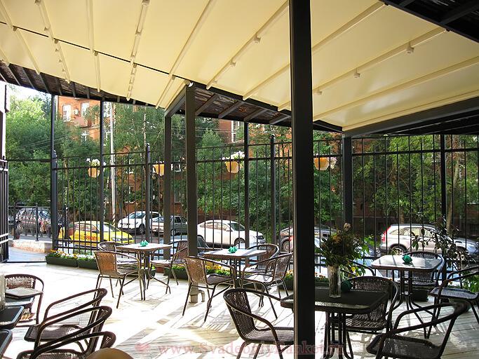 Летняя веранда бара-ресторана Форест