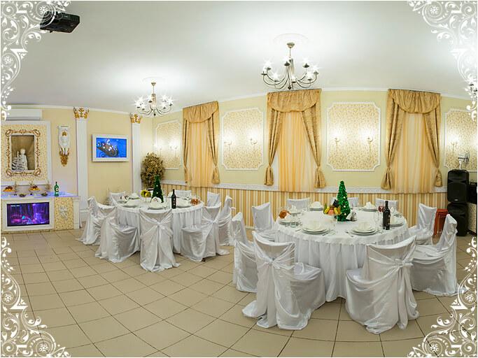 Банкетный зал свадьбы 25 человек