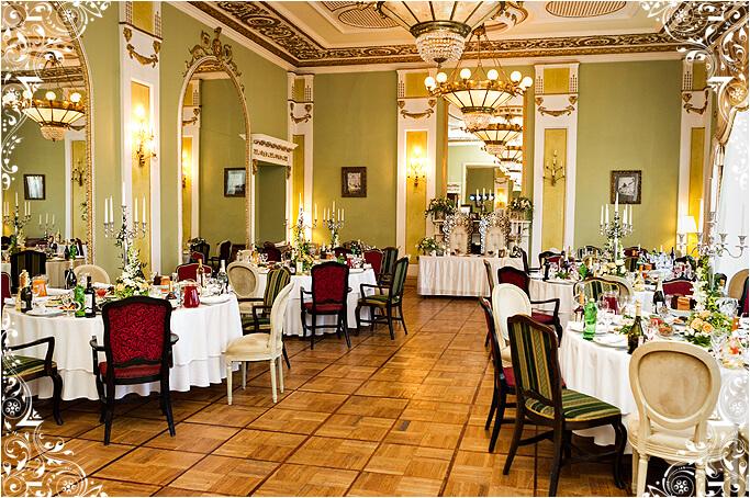 Зеркальный зал ресторана Яръ