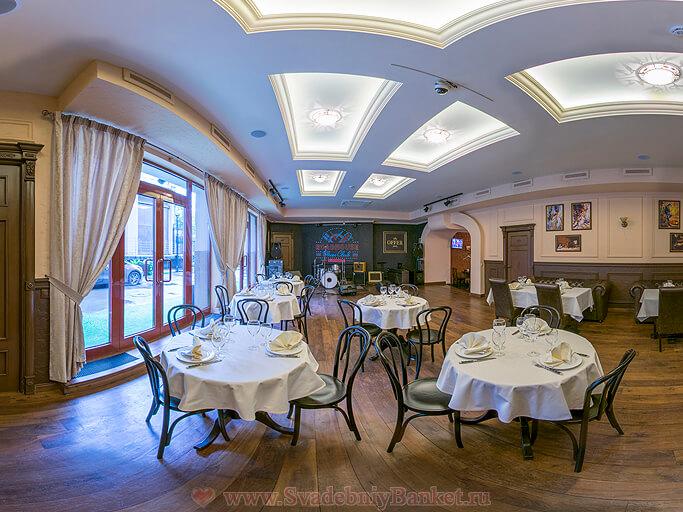 Концертный зал ресторана Оффер