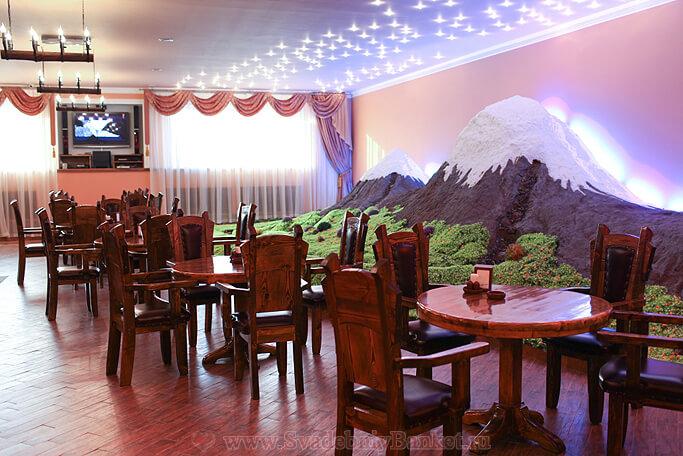 Барный зал (кафе-бар) ресторана Саят-Нова