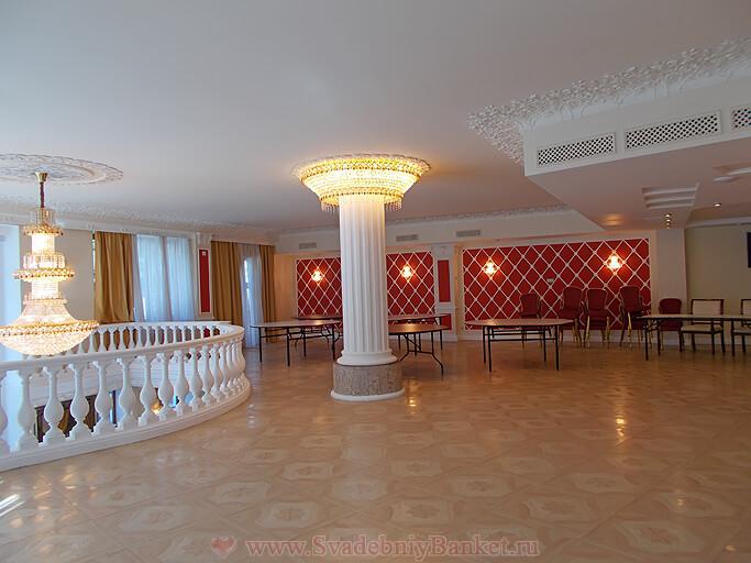 Банкетный зал отеля The Rooms