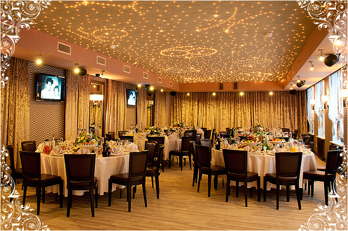 Банкетный караоке-зал ресторана LeninGrad