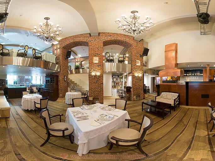 Зал ресторана Le Restaurant