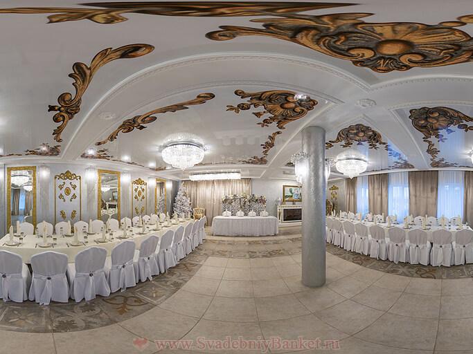 Серебряный зал ресторана Меридиан