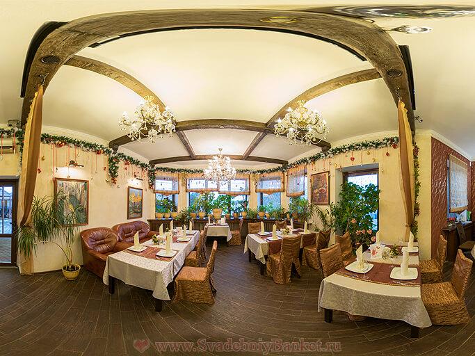Итальянский зал ресторана Меридиан