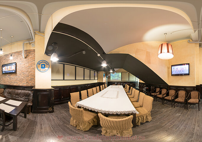 Банкетный зал ресторана Дубинин