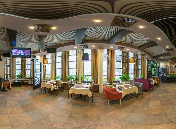 1-ый этаж ресторана Мархал