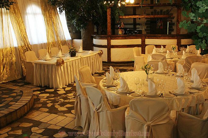 Зал Посад ресторанного комплекса Гамма-Дельта