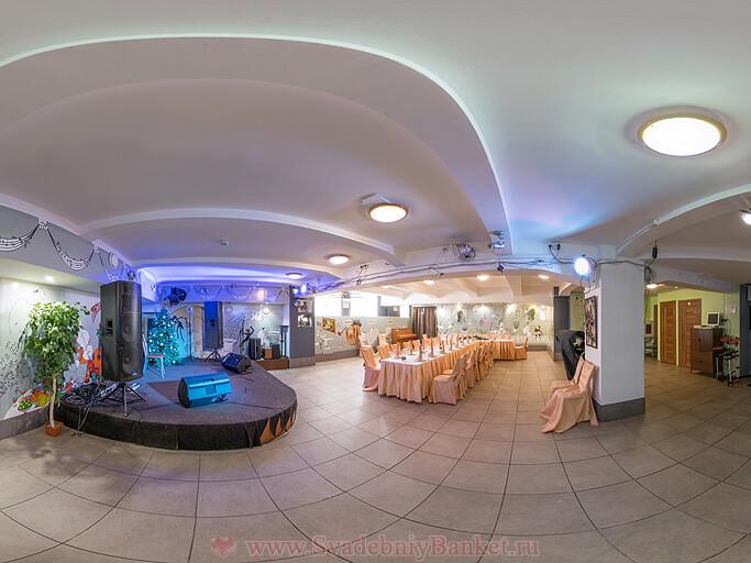 Новый зал бард-клуба Гнездо глухаря
